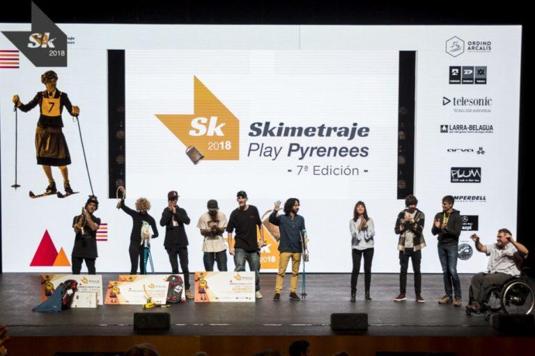 Conoce a los premiados del 7º Skimetraje Play Pyrenees
