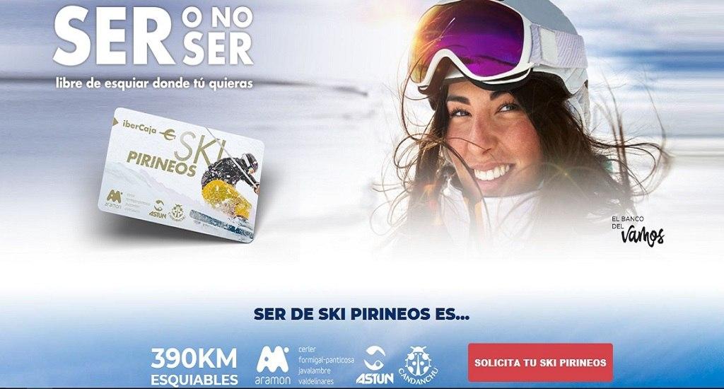 tarjeta postpagoSki Pass Ski Pirineos