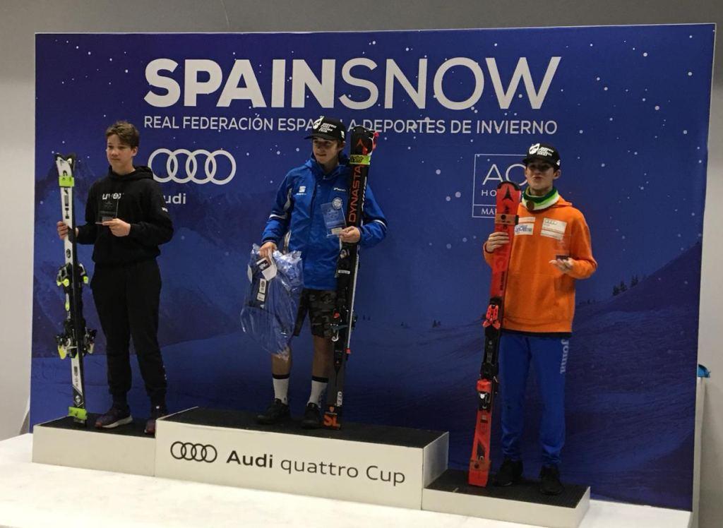 Podio Masculino Trofeo SpainSnow 2018