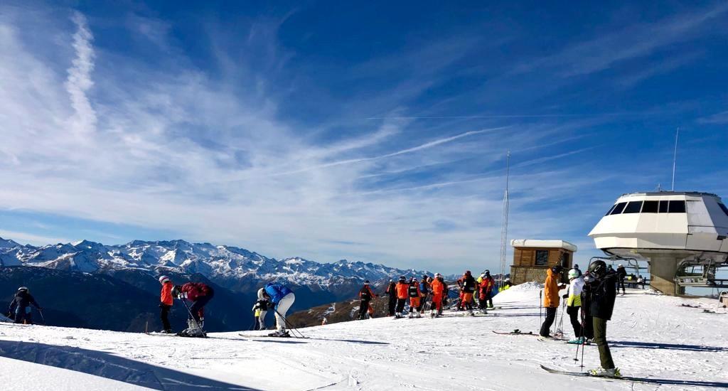 balance del puente de diciembre en las estaciones de esquí