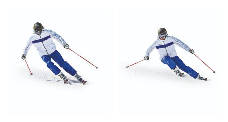 Técnica de esquí: Mirando lejos