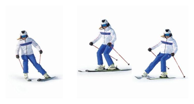 Técnica de esquí: Cuña para expertos