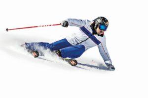 Técnica de esquí: Cómo inclinar en los virajes