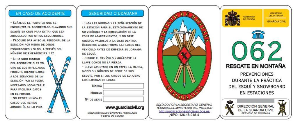 Folleto seguridad esqui Guardia Civil_1