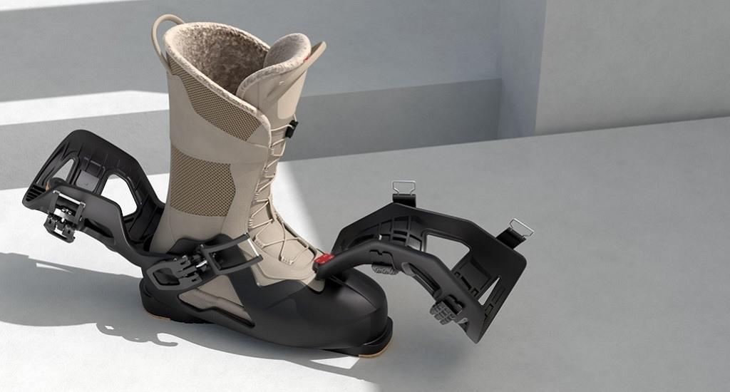 botas esquí desmontables