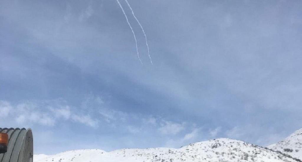 misil estacion esqui israel