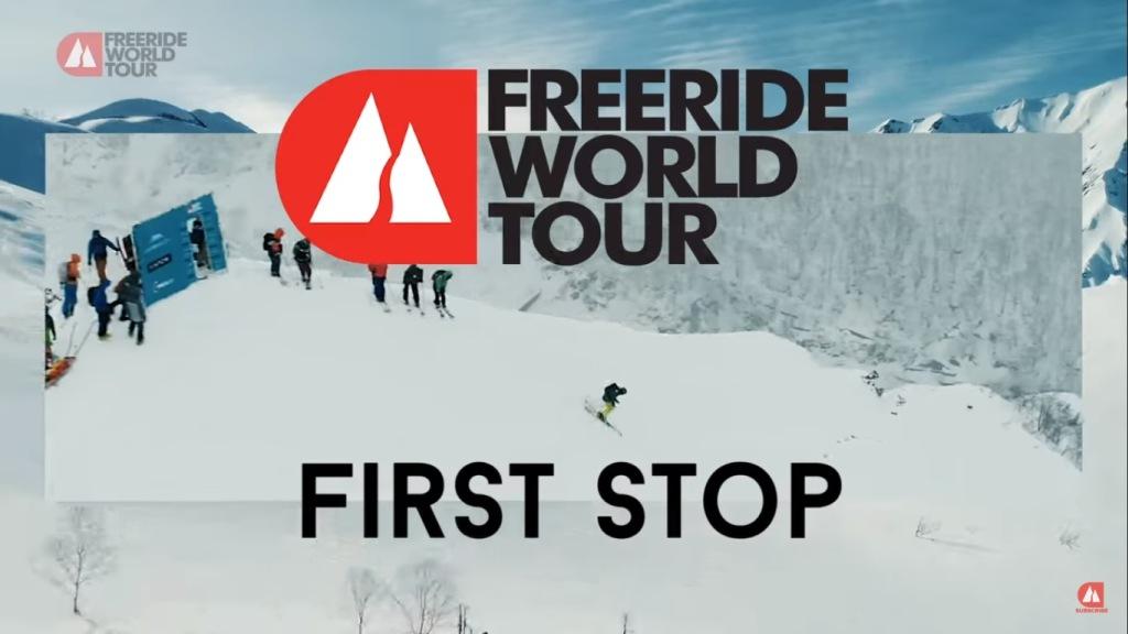 tráiler Freeride World Tour de Hakuba 2019