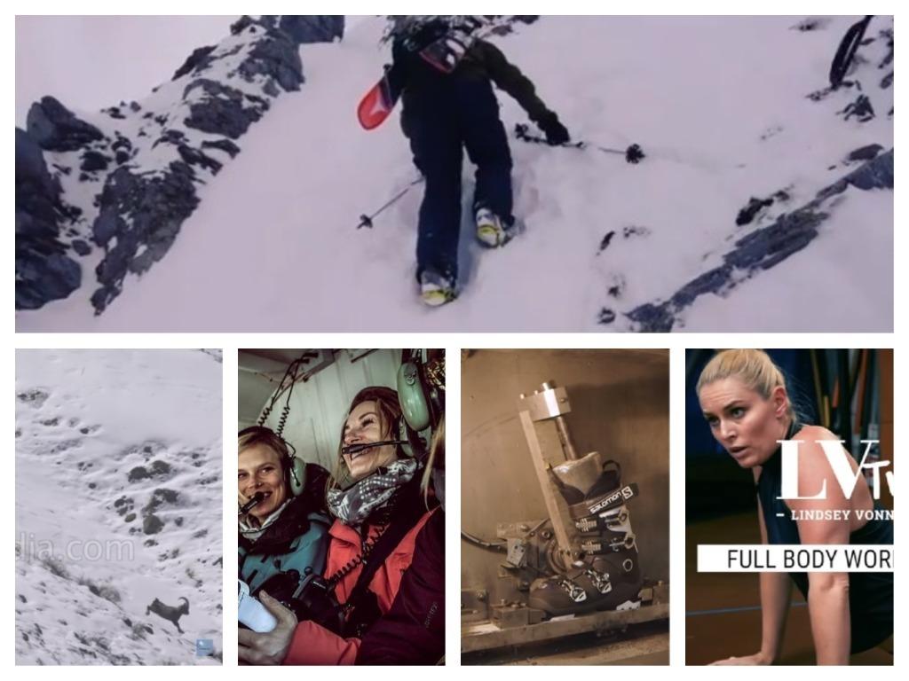 videos de esquí
