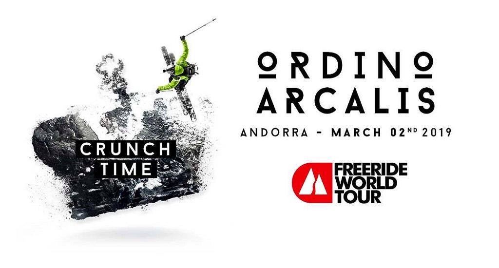 presentación Freeride World Tour de Ordino Arcalís 2019