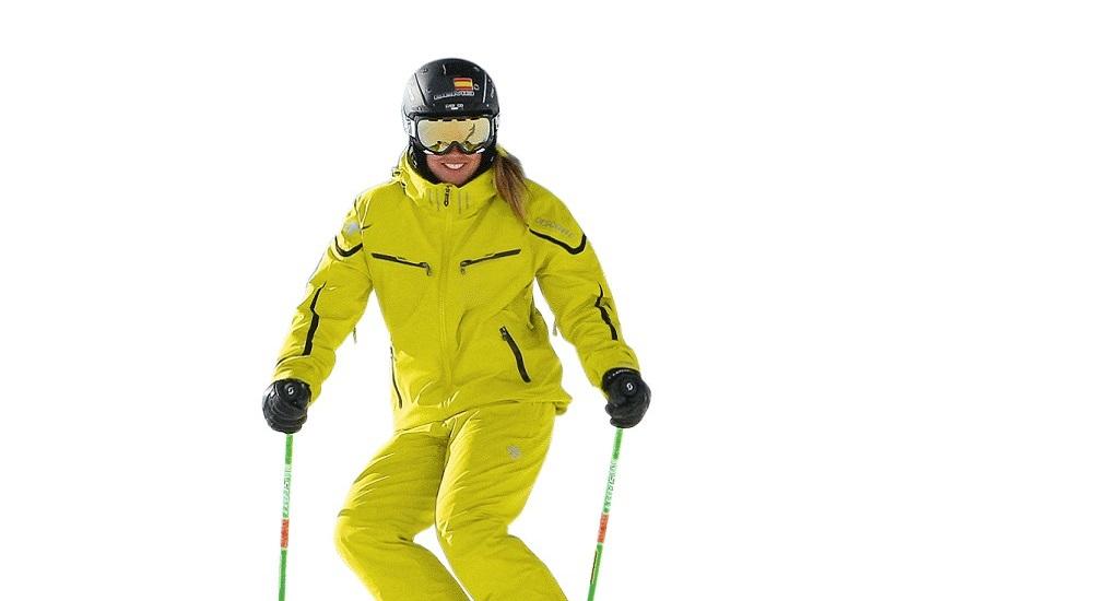 conducción de los esquís