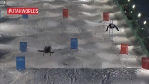 Estratosférico vuelo y caída de Daichi Hara en los mundiales de Moguls