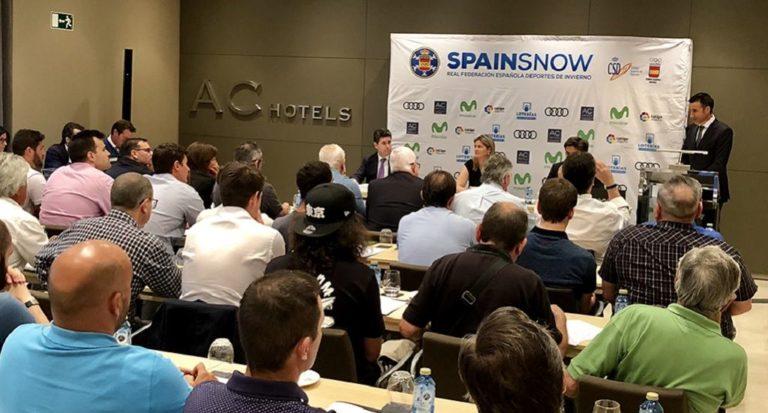 Primer Congreso RFEDI-SPAINSNOW, trabajando por el futuro de los deportes de invierno
