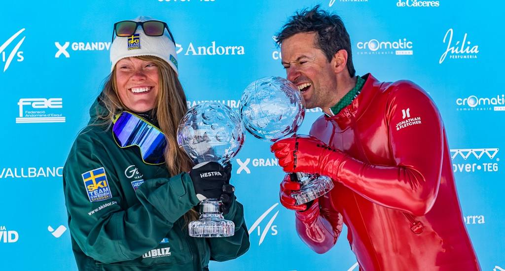 clasificación copa del mundo de esquí de velocidad 2019