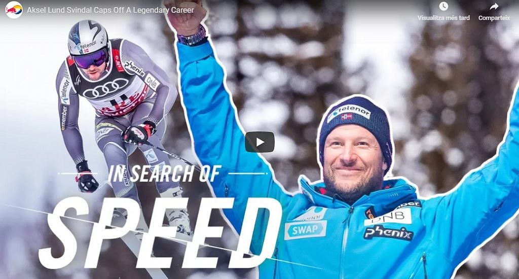 Red Bull vídeo Aksel Lund Svindal