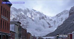 Impactante vídeo de un alud en Colorado