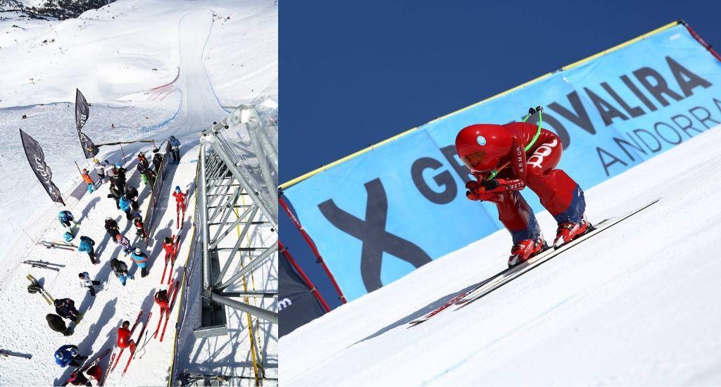 Campeonatos del Mundo de Esquí de Velocidad 2021 Grandvalira
