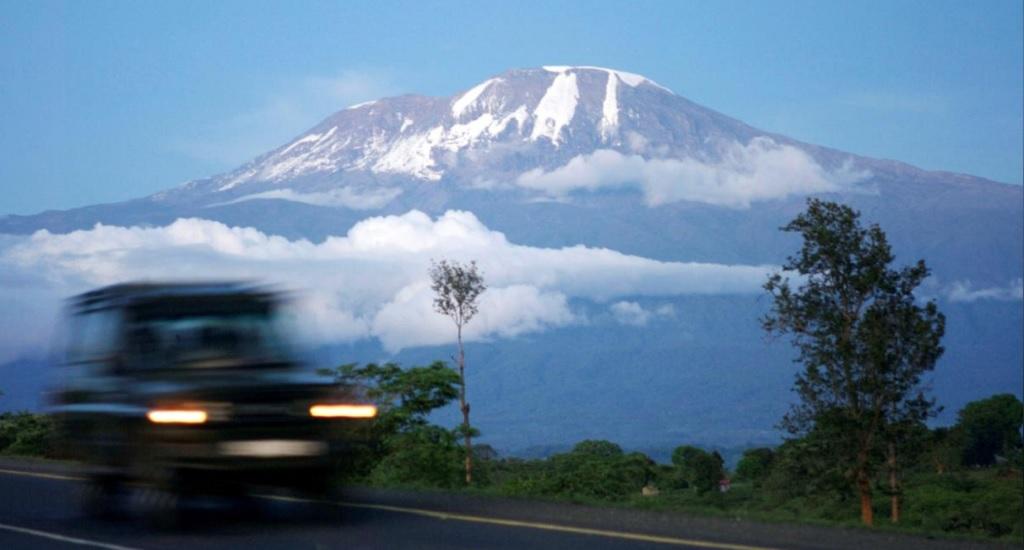 teleférico en el Kilimanjaro
