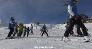 Volver a esquiar después de un aneurisma cerebral, siendo tan solo un niño