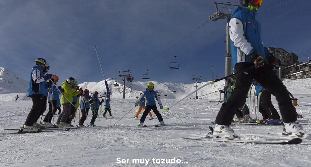 Esquiar después aneurisma cerebral