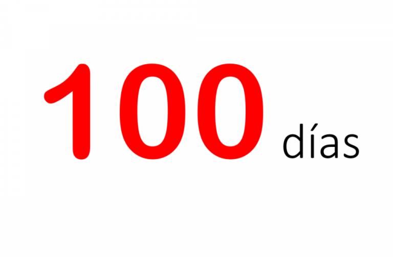 ¡100 días!