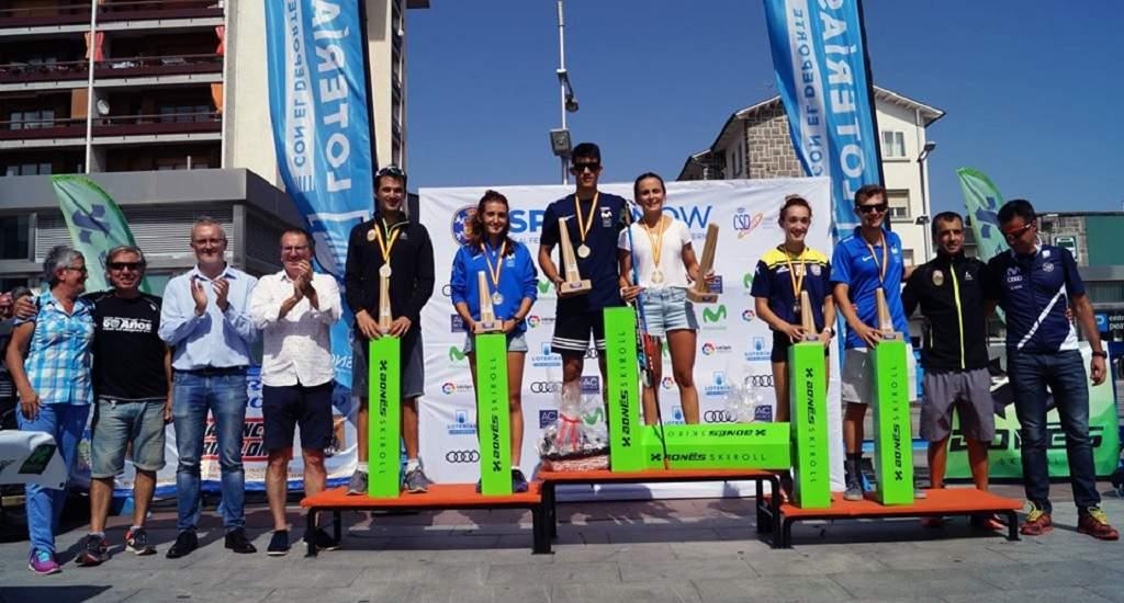 Resultados Campeonatos de España de Rollerski 2019