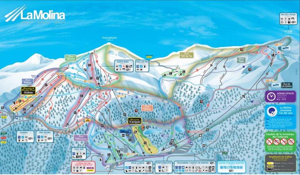 Mapa-Pistas-LaMolina