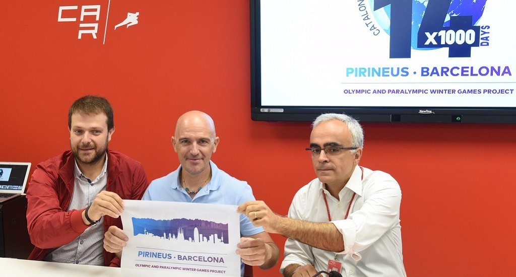 Mingote embajador candidatura Pirineus-Barcelona 2030