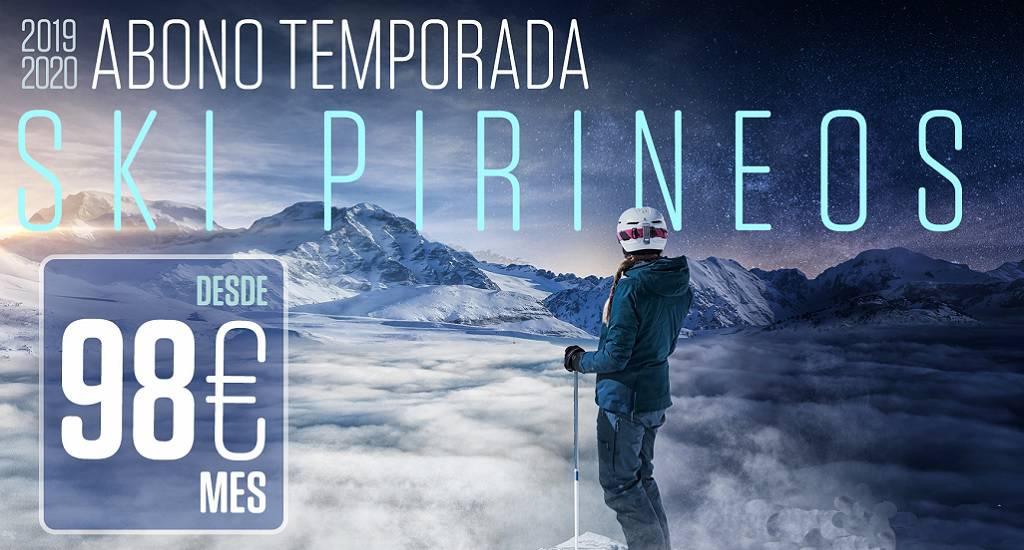 precio Ski Pirineos 2019-2020