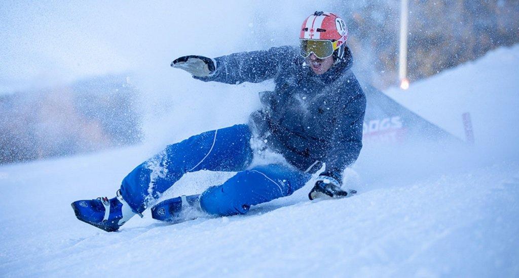 botas esquiar sin esquís