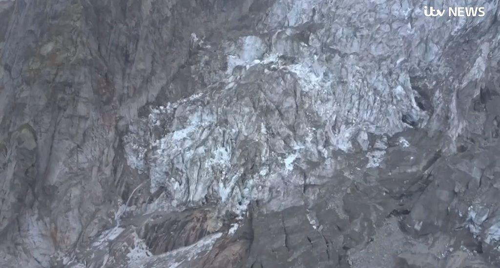 riesgo derrumbe glaciar Mont Blanc