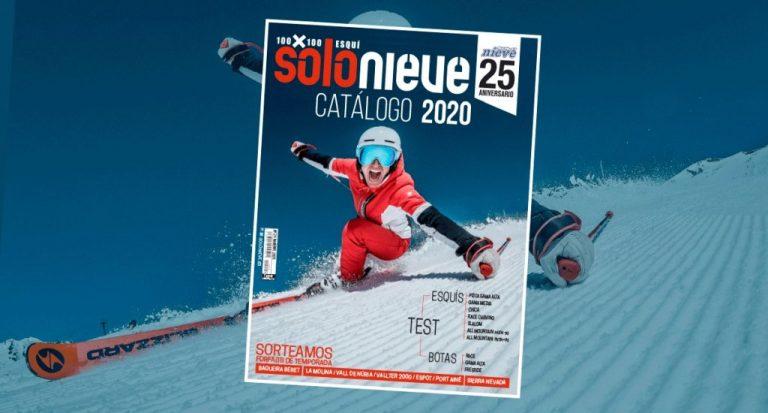 ¡Estamos de vuelta! El catálogo Solo Nieve 2020 ya está a la venta