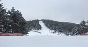 Punto de Nieve Santa Inés precio forfait mapa pistas