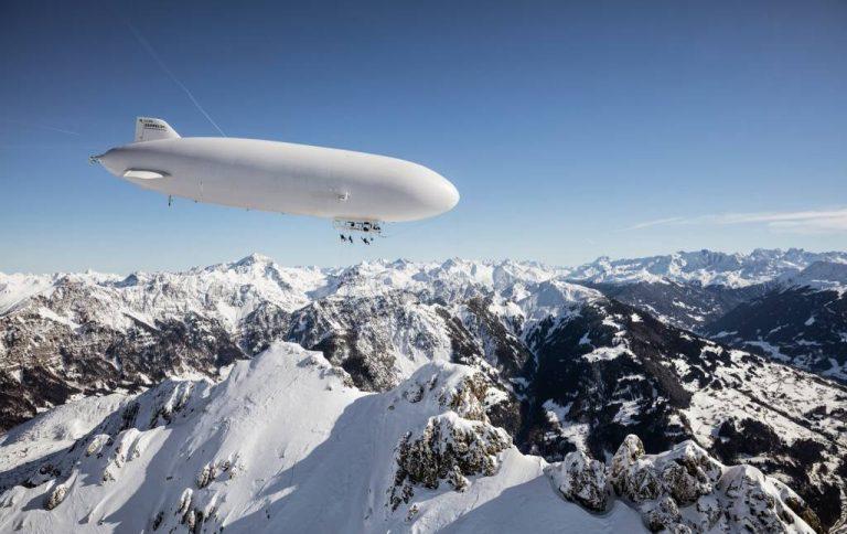 Zeppelin ski, puro espectáculo