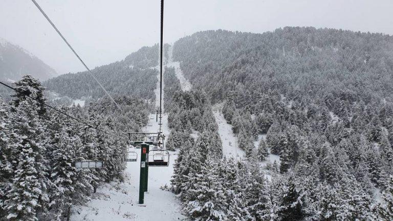 ¿Dónde y cuánto nevará este viernes?