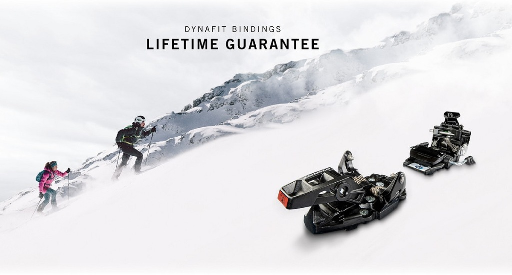 Fijaciones Dynafit garantía de por vida