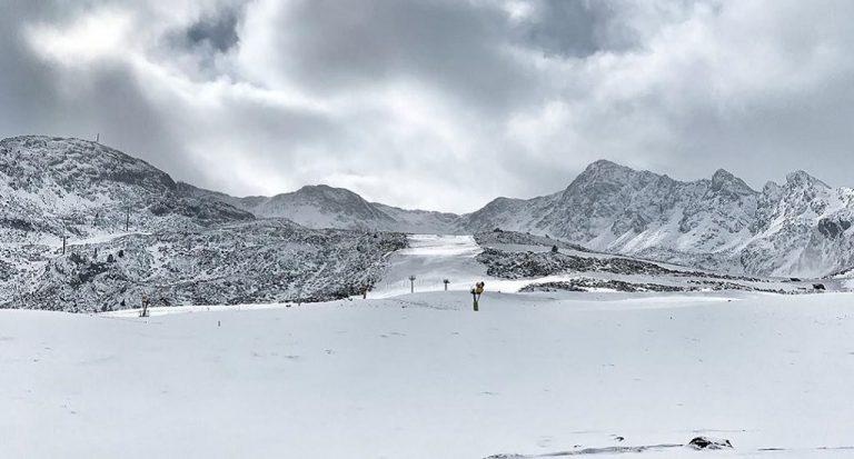 ¡Veamos dónde podemos esquiar este fin de semana!