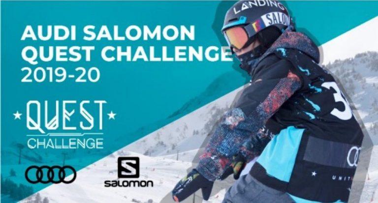 Preparados para la Audi Salomon Quest Challenge de Baqueira