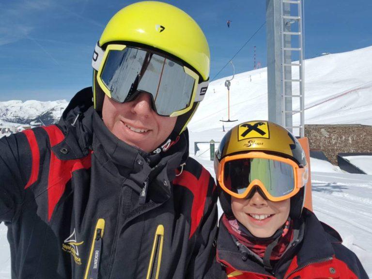 Esquiar con hijos. Un momento clave