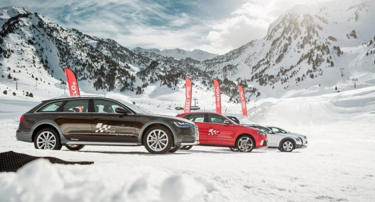 En marcha los cursos driving experience de Audi: Deslizamiento bajo control