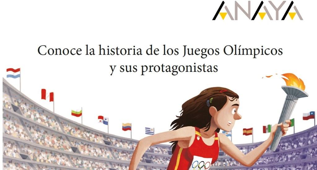 libro infantil Juegos Olímpicos