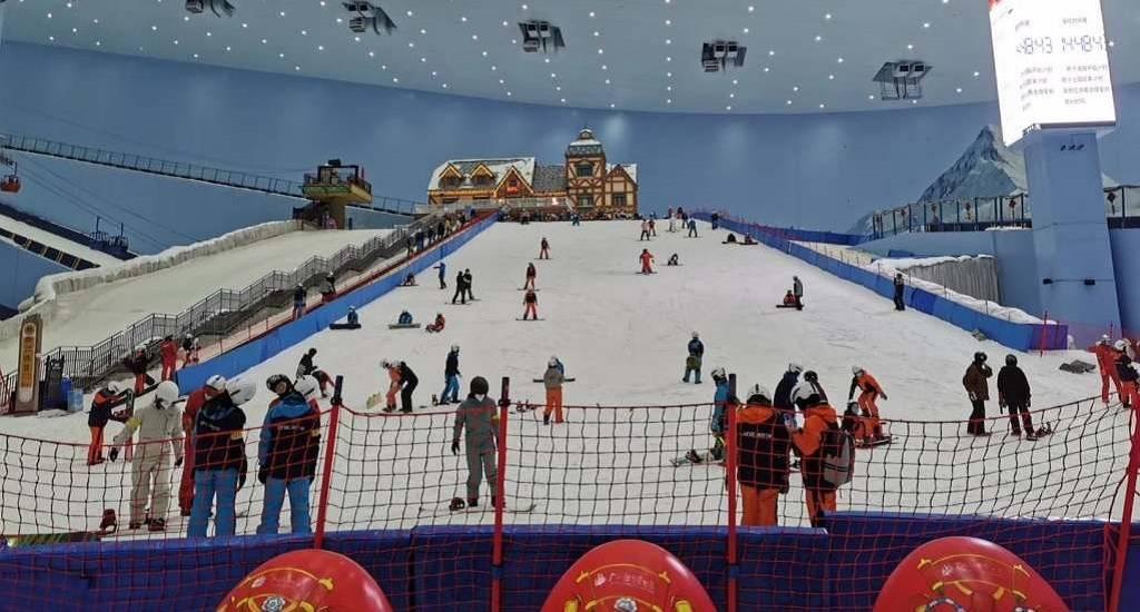 china reabrir centros esqui