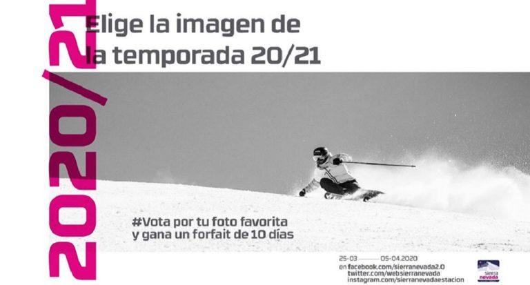 Gana un forfait de 10 días para Sierra Nevada 2020/21 votando tu foto favorita