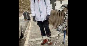 pillado esquiador Sierra Nevada confinamiento