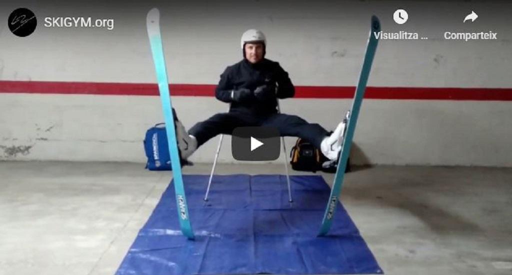 ejercicios de SkiGym