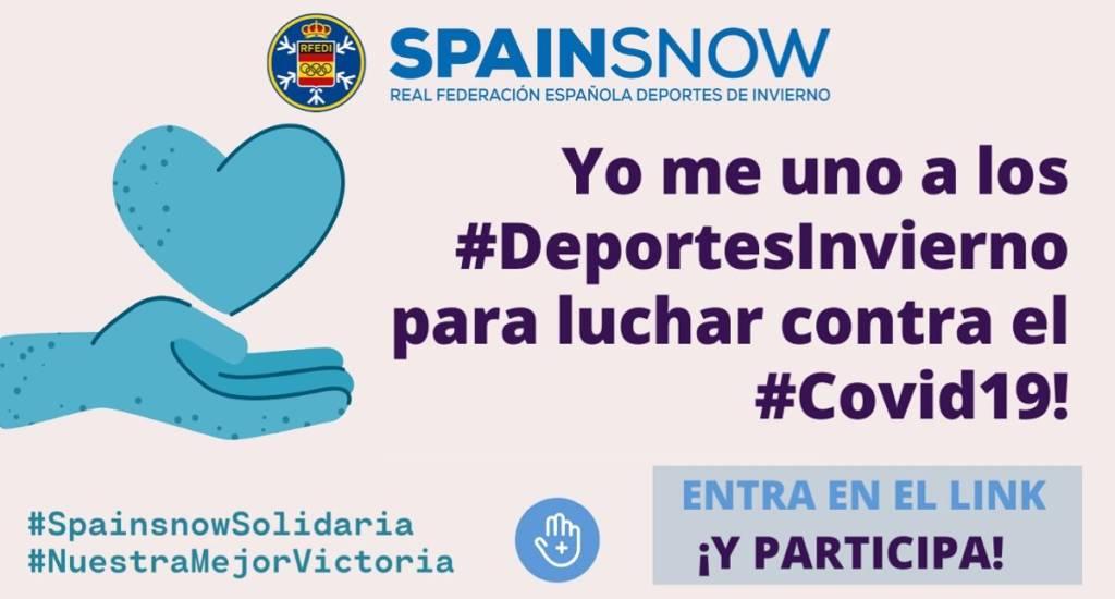 SpainsnowSolidaria contra coronavirus