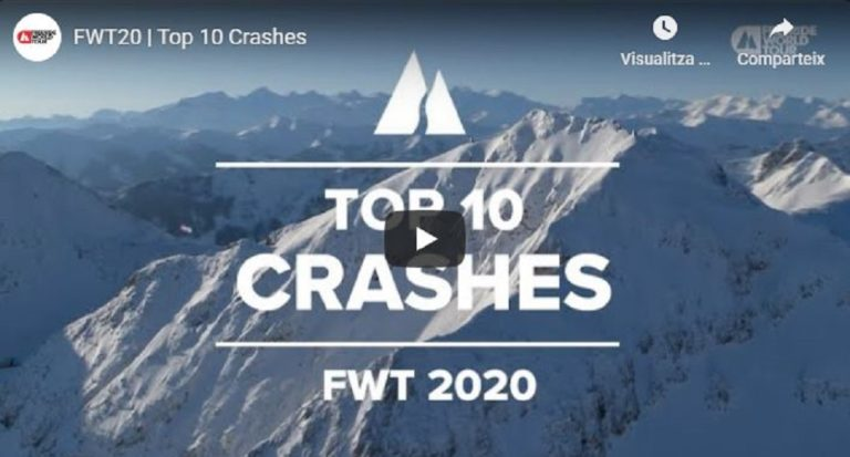 Top 10 caídas del Freeride World Tour 2020: ¡Menudos sustos!