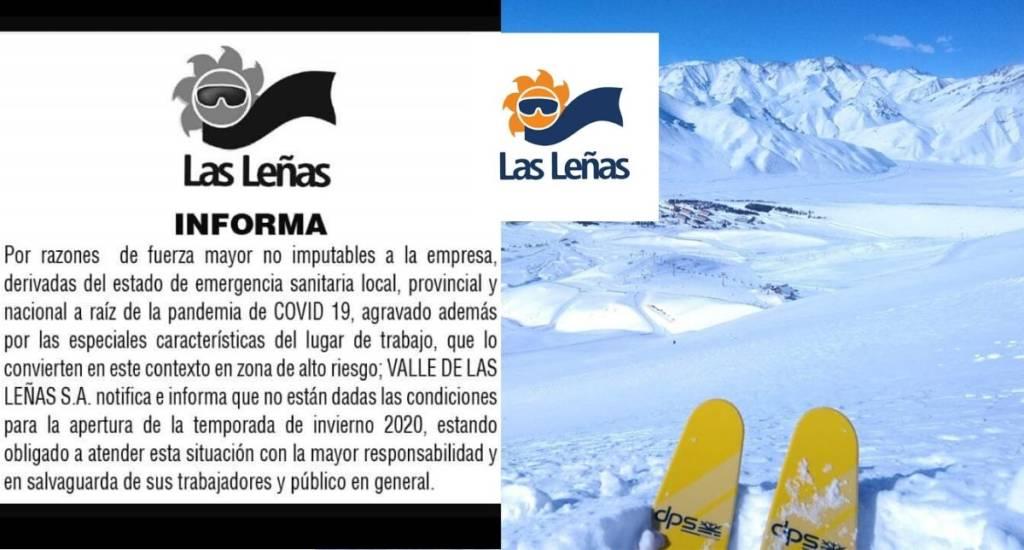 coronavirus peligrar temporada esquí Argentina