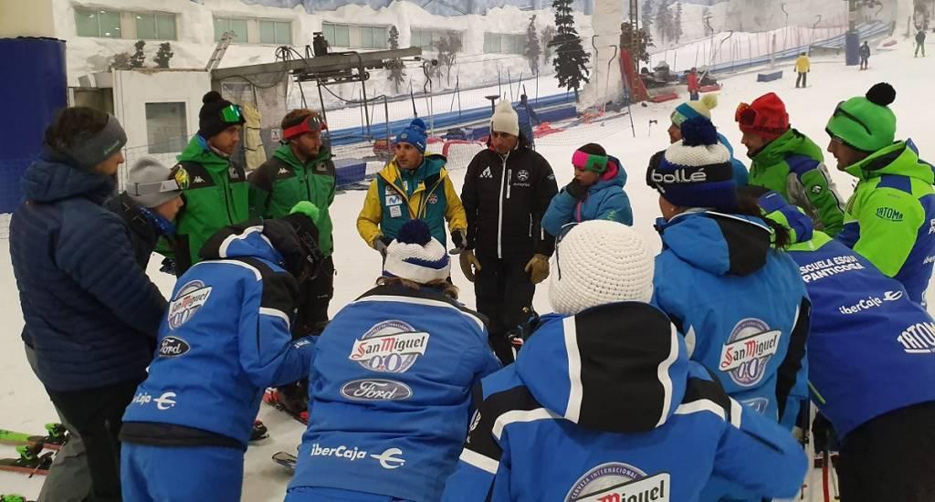 Curso técnicos Escuela Española de Esquí 2020