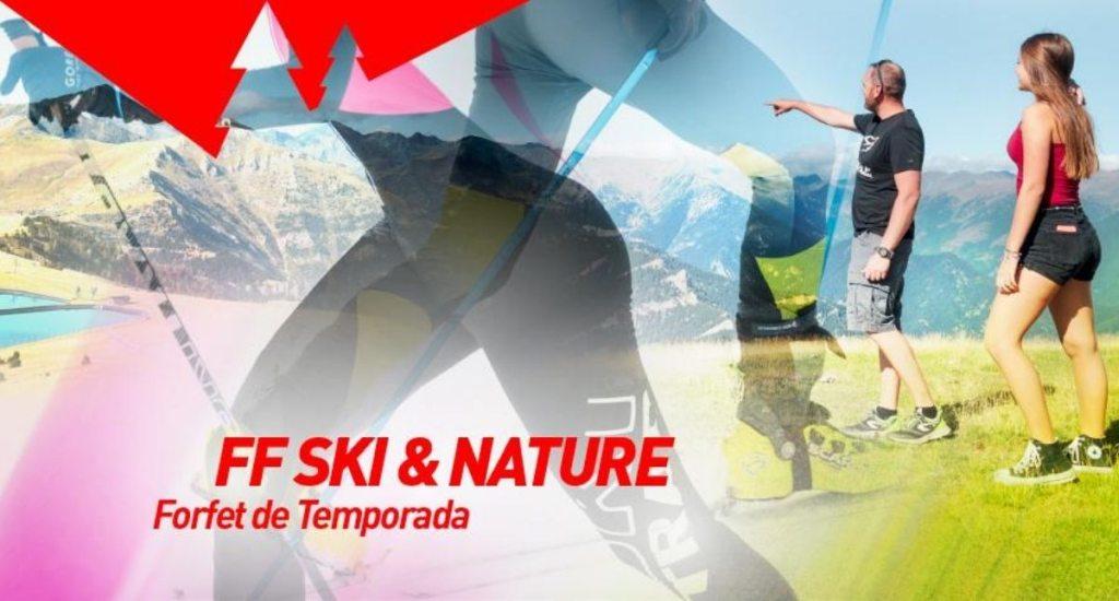 Forfait Ski&Nature Vallnord - Pal Arinsal precio características