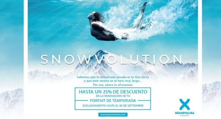 Grandvalira confía en la temporada de esquí 2020-2021 y anuncia la fecha de apertura